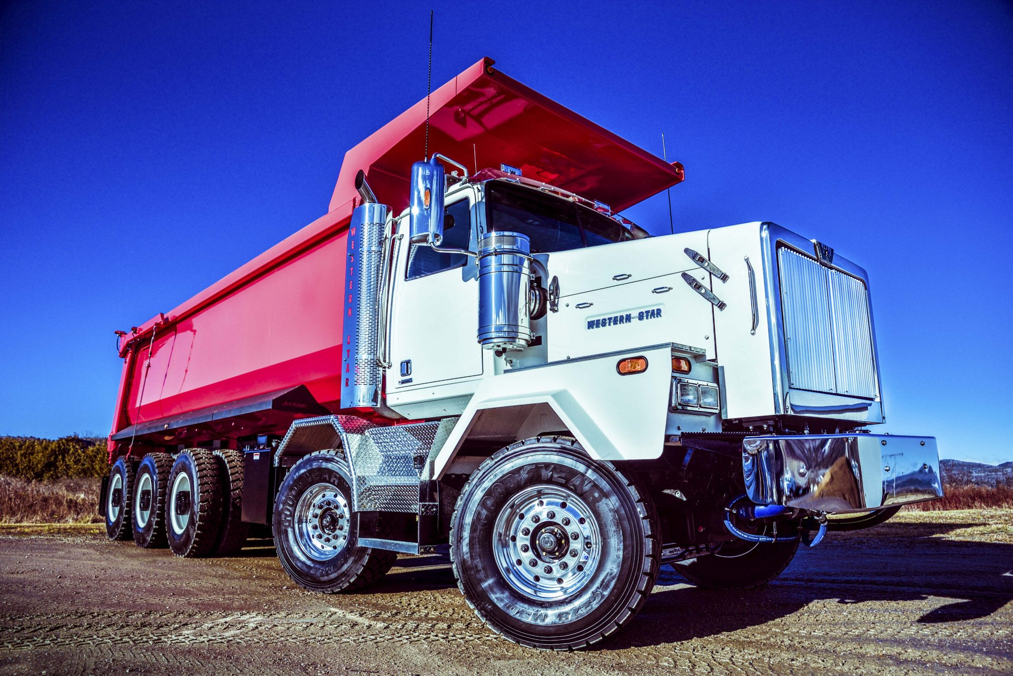 Dramis mining truck western star 4900xd chassis