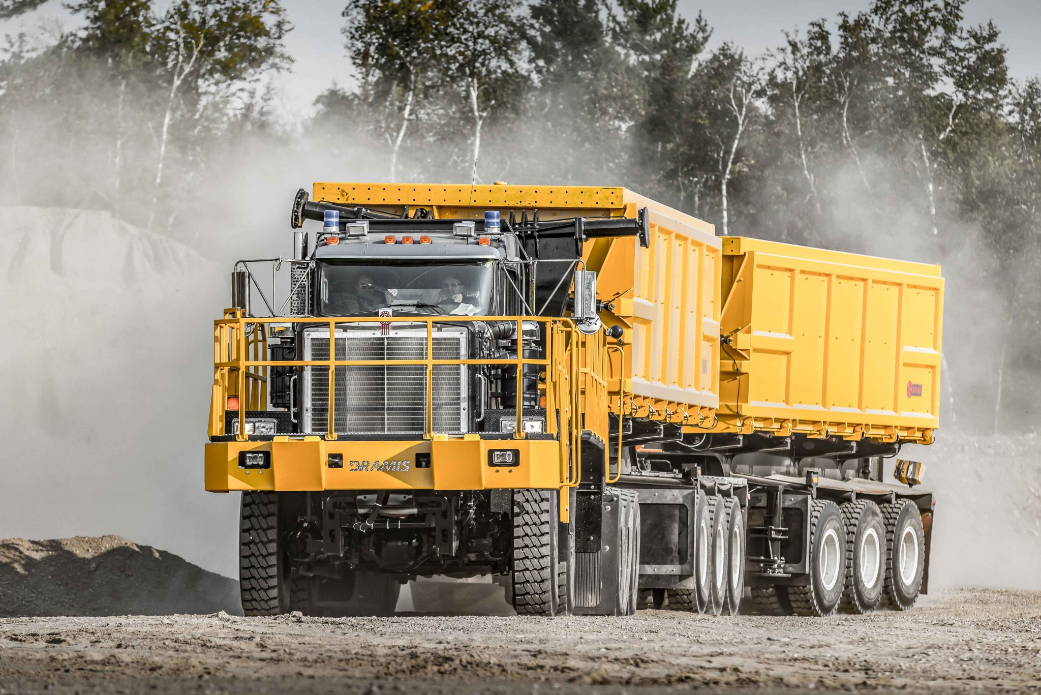 dramis d150T haul truck for mining